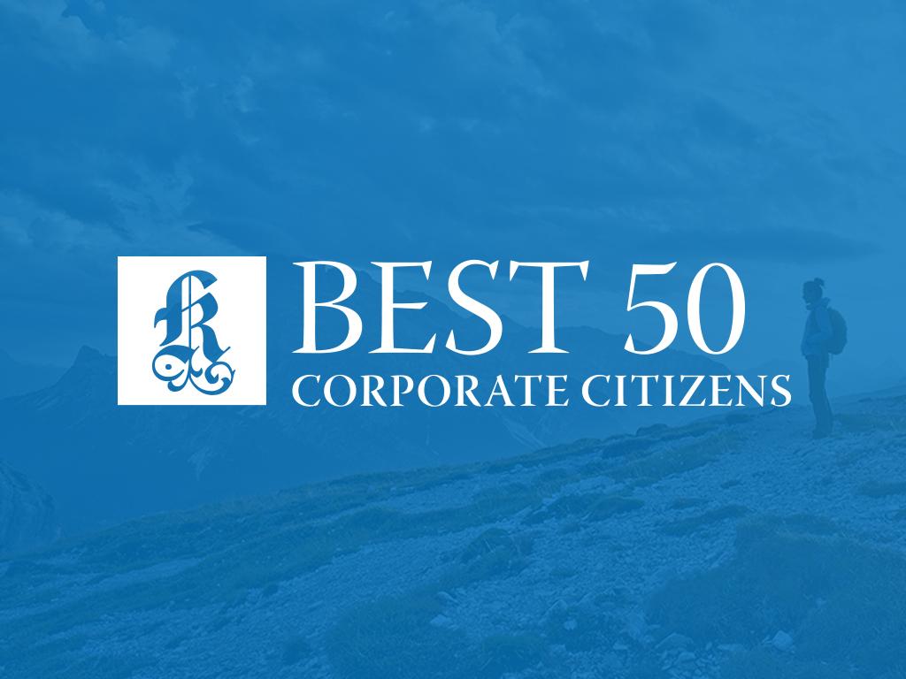 Corporate Partnership - Best 50 Corporate Citizens
