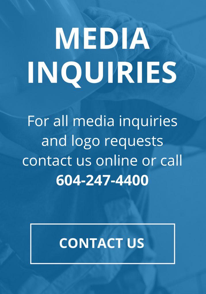 Media Enquiries 604-247-4400